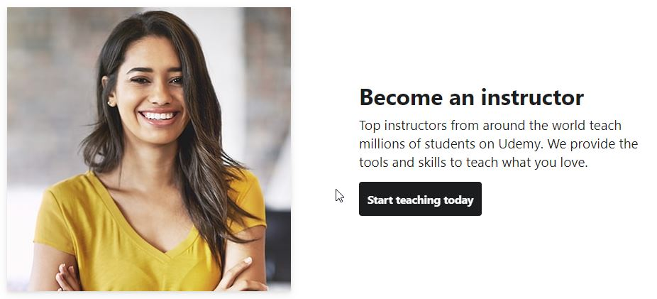 Udemy for instructors